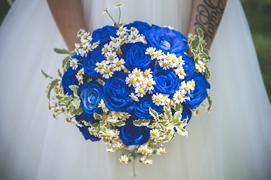Bouquet Sposa Rose Blu.Bouquet Da Sposa Per Matrimonio Lago Maggiore Lago D Orta