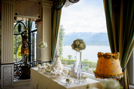 sweet table lake maggiore