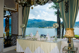 sweet table hotel lake maggiore