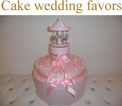 wedding favors cakes